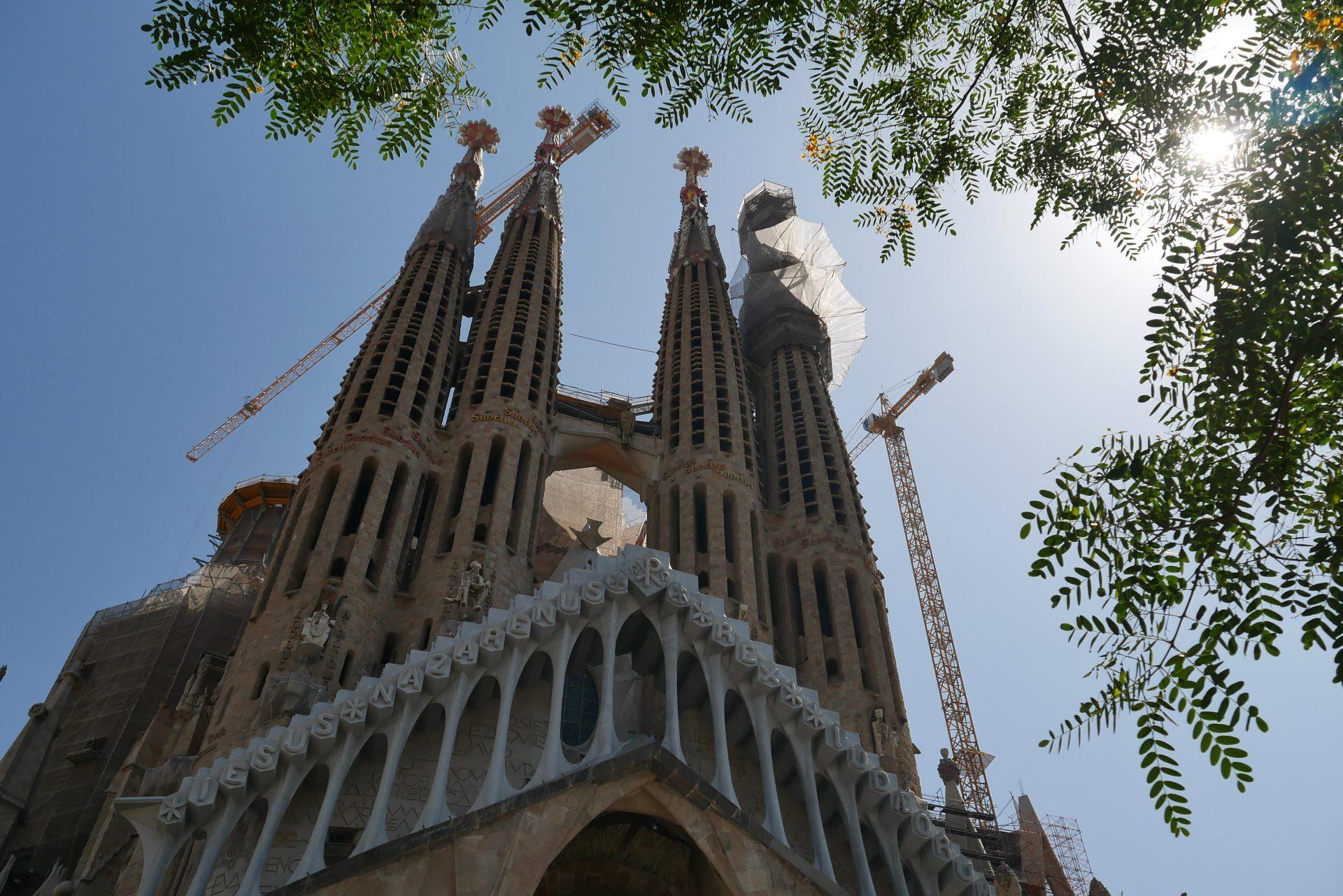 Barcelona – první dny