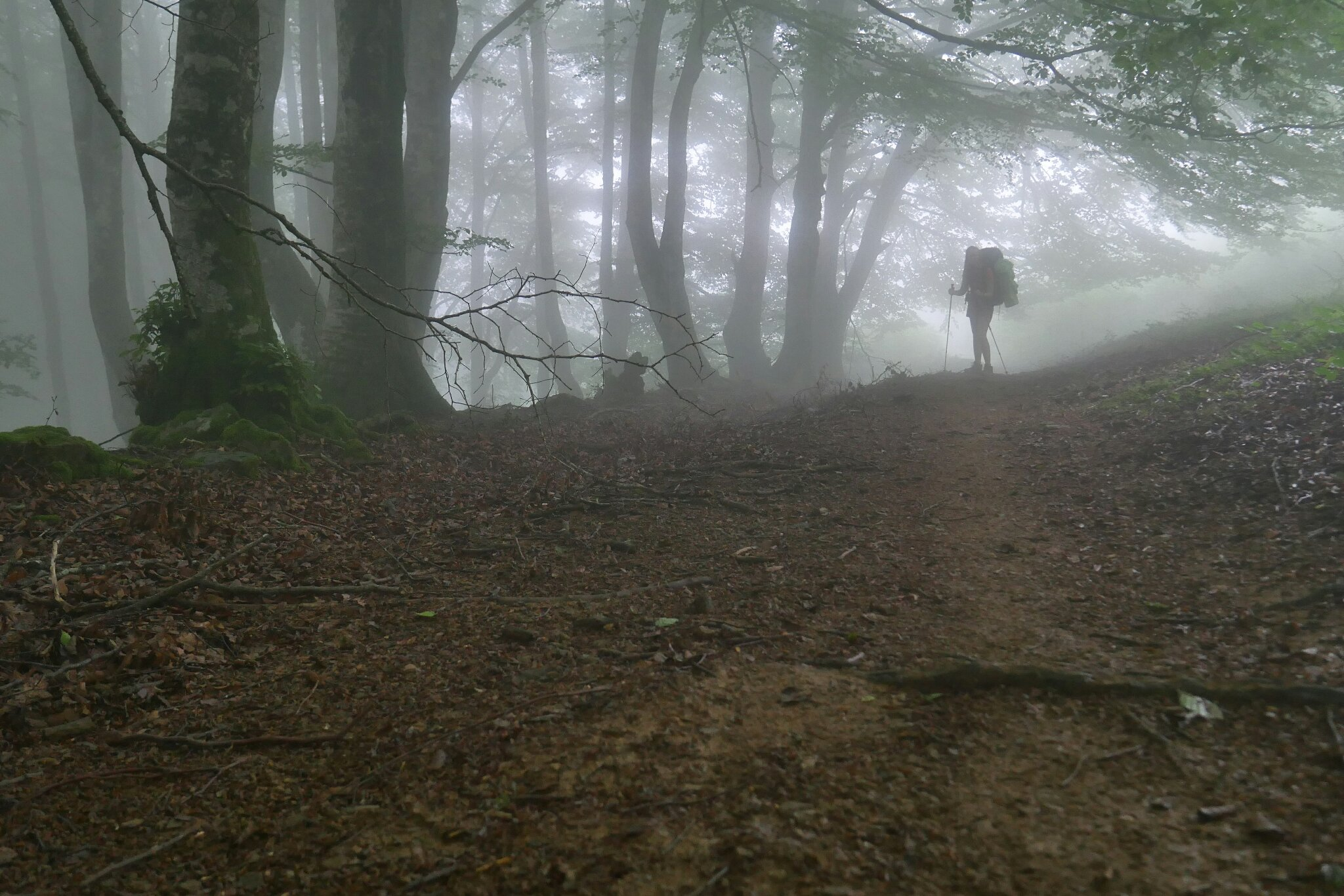 GR 11 – 4. ETAPA – Mlha přede mnou, mlha za mnou