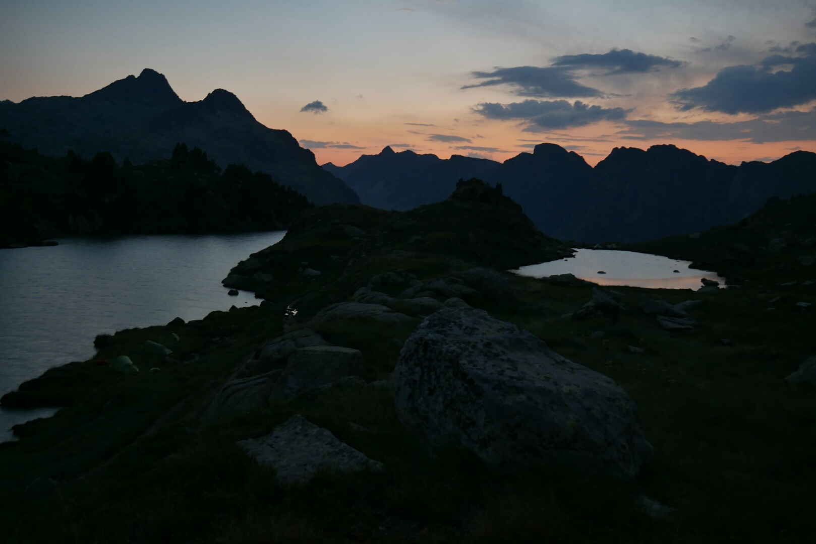 GR 11 – 25. ETAPA (29. 7.) – Jezera, kam se podíváš