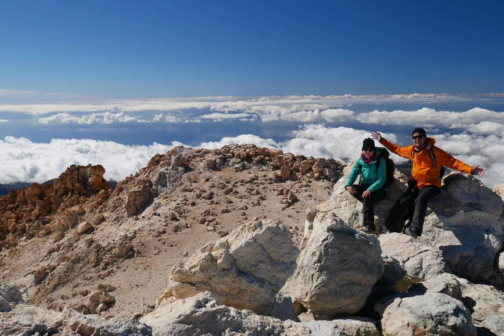 Pico del Teide – naše nejvyšší hora!