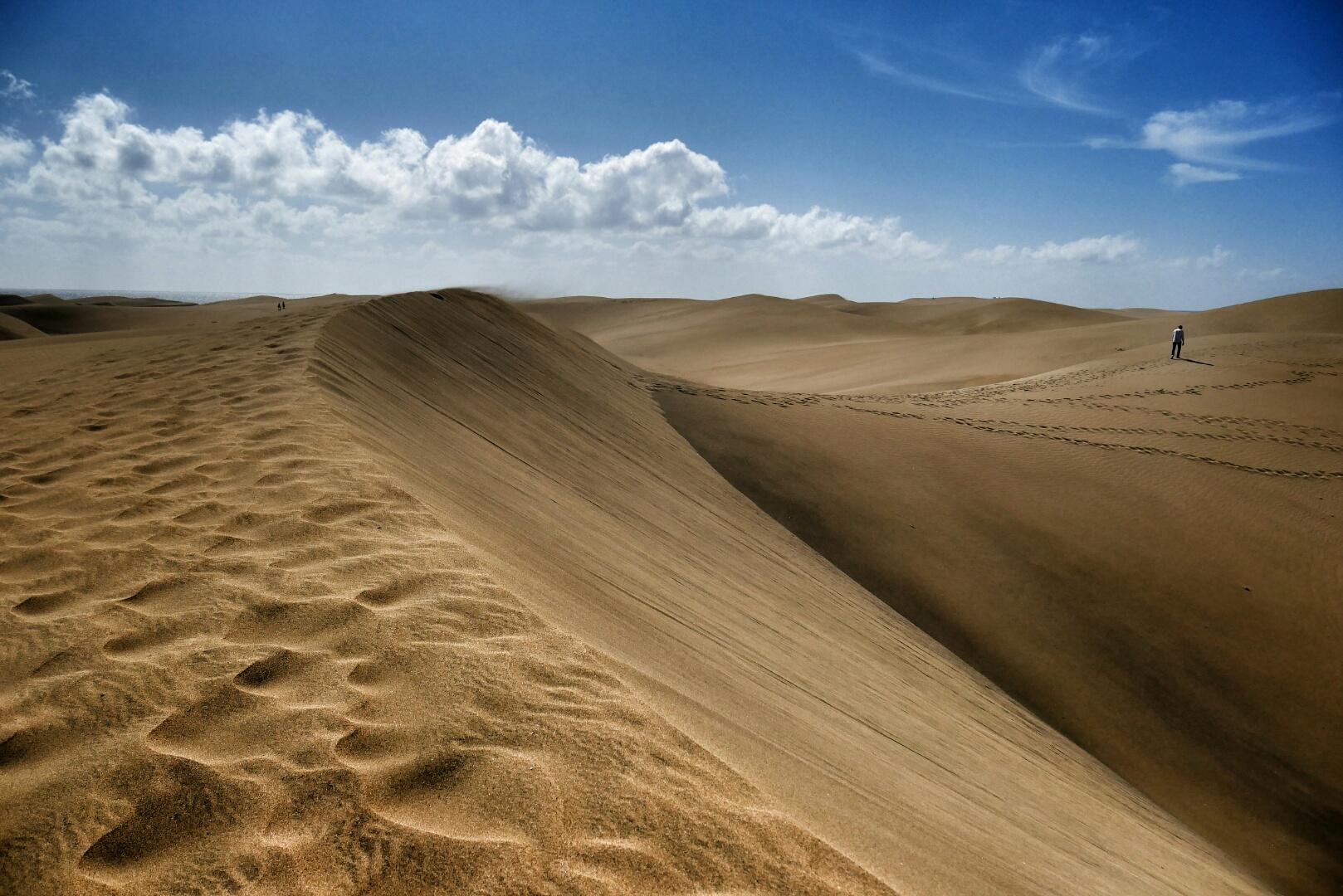 Vánoce v písečných dunách
