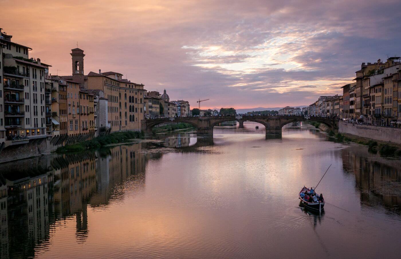 Dobrou noc Brno, dobré ráno Florencie