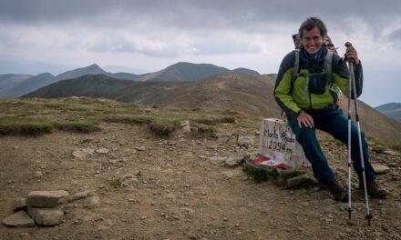 Nejvyšši hora treku: Monte Prado